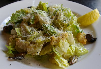 Caesar Salad from Pacific Grill restaurant in Tacoma, Washington.