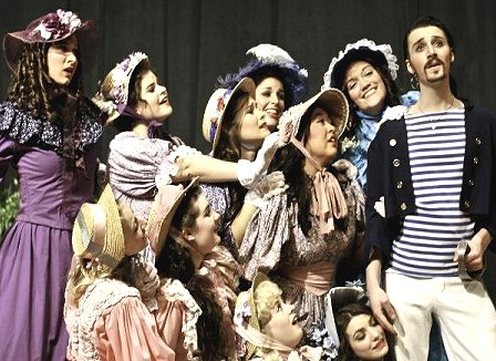 The Pirates of Penzance at the University of Puget Sound in Tacoma, Washington.