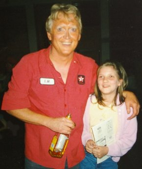 An actor and our granddaughter Talia in Dockton, Washington.